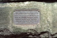 Waterwheel plaque.