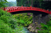 Shinkyo Bridge.