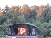 Sunset on Womad.